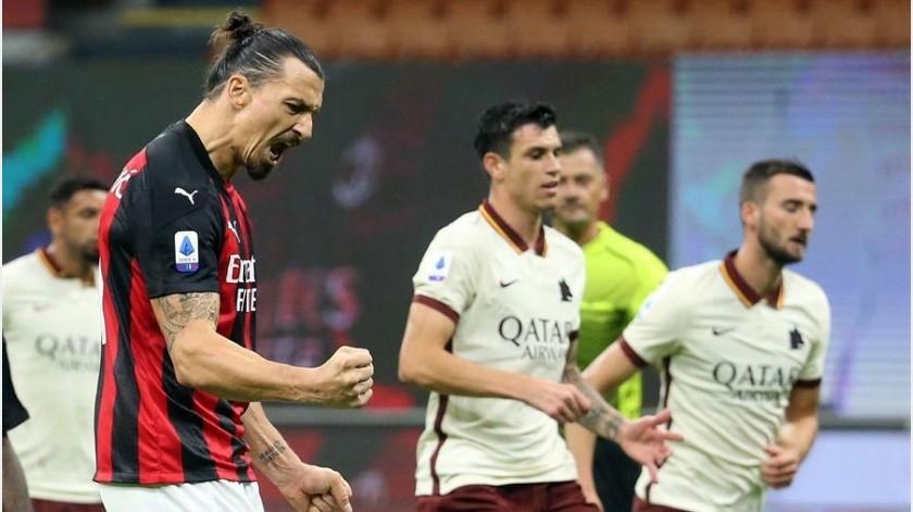 El sueco Zlatan Ibrahimovic marcó dos goles.(Cortesía)