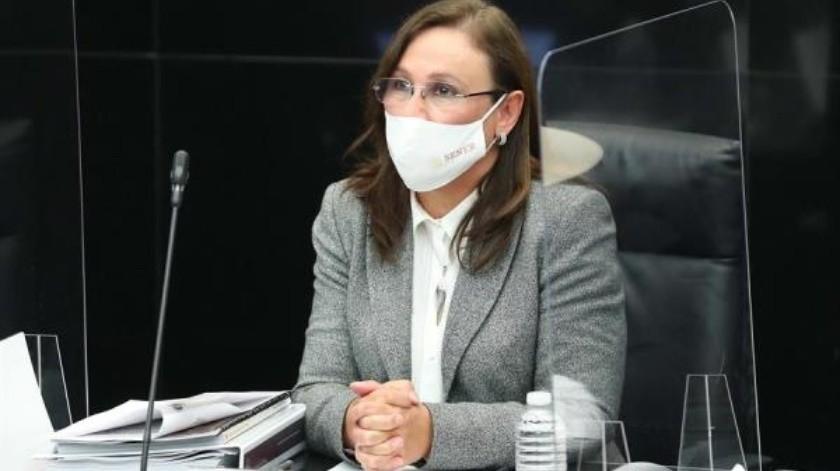 """Rocío Nahle justifica refinería de Dos Bocas por """"seguridad energética""""(EFE)"""