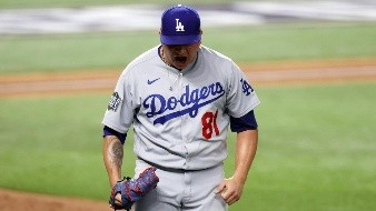 Víctor González es parte importante del bullpen de los Dodgers.