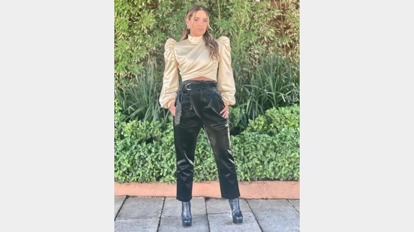 Galiela Montijo se muestra molesta por actitud de Diego Di Marco(Instagram)