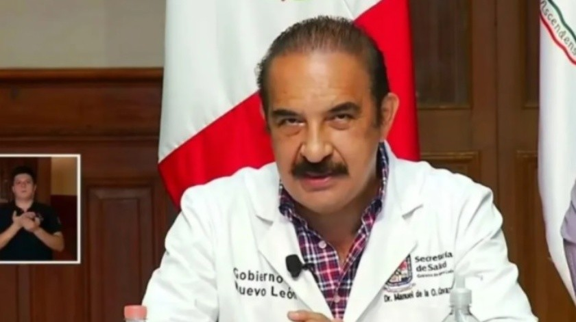 """Multas a """"fiesteros reincidentes"""" sería de entre 20 mil y 100 mil pesos ante Covid-19: Secretario de Salud de NL(Facebook Gobierno del Estado de Nuevo León / Captura de Pantalla)"""