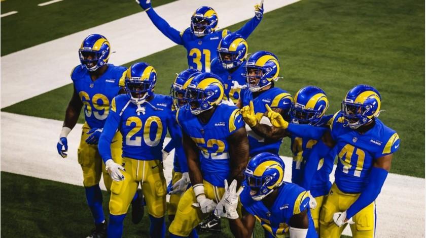 Los Rams ganaron en casa frente a Chicago.(@RamsNFL)