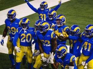 Los Rams ganaron en casa frente a Chicago.