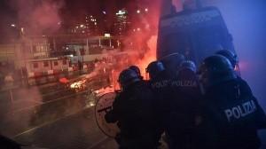 Destrozos y protestas en Italia por cierre ante Covid-19