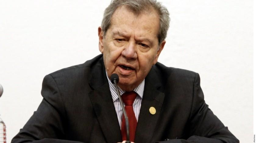 Porfirio Muñoz Ledo anuncia lucha jurídica por la presidencia de Morena(Archivo GH)