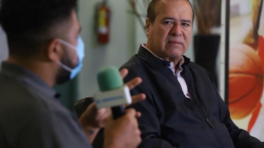 El Alcalde con licencia de Tijuana dice estar dispuesto al diálogo con el Gobernador.(Sergio Ortiz)