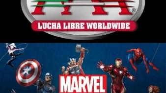 Lanza Marvel sus propios luchadores en alianza con la AAA