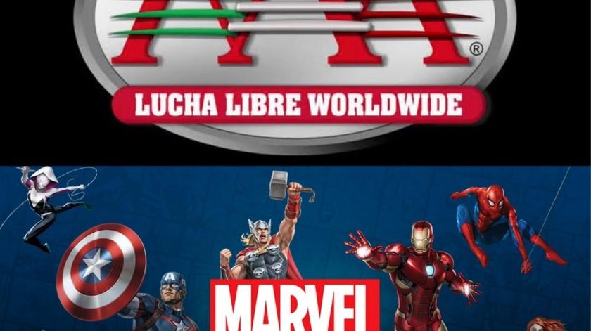 Lanza Marvel sus propios luchadores en alianza con la AAA(Cortesía Twitter)