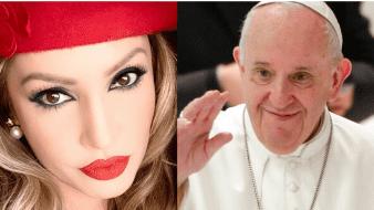 Paty Navidad acusó al Papa Francisco de comunista por supuestamente apoyar a Joe Biden.