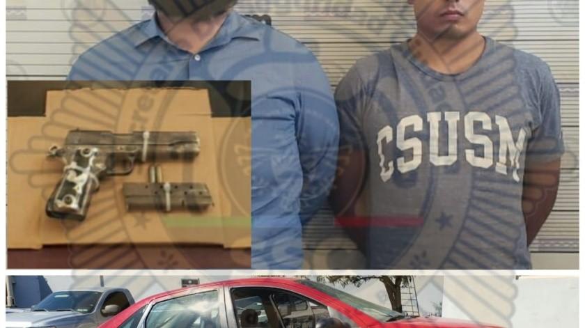 Los hombres fueron detenidos sobre el bulevar Benito Juárez Norte.(Cortesía)