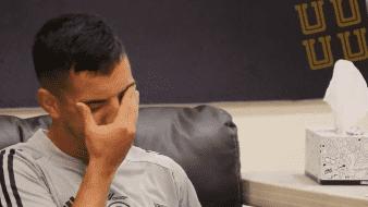 ¡Que dolor! Leo Fernández, de Tigres, sufre ante las pruebas de Covid-19