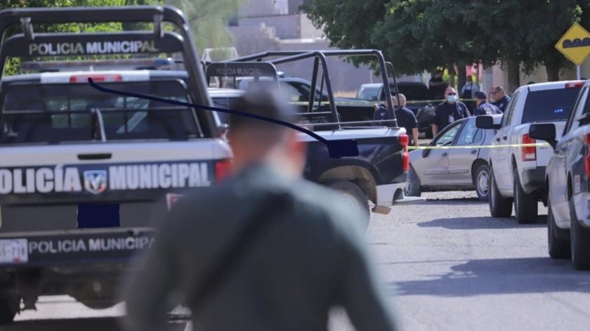 Sujeto arrolla premeditadamente a policía municipal en colonia Las Lomas(GH)