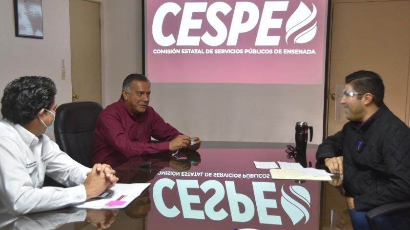 Gestiona Armando Ayala Robles ante la Cespe diferentes peticiones de la ciudadanía