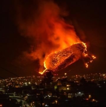 Dos incendios forestales en Ensenada