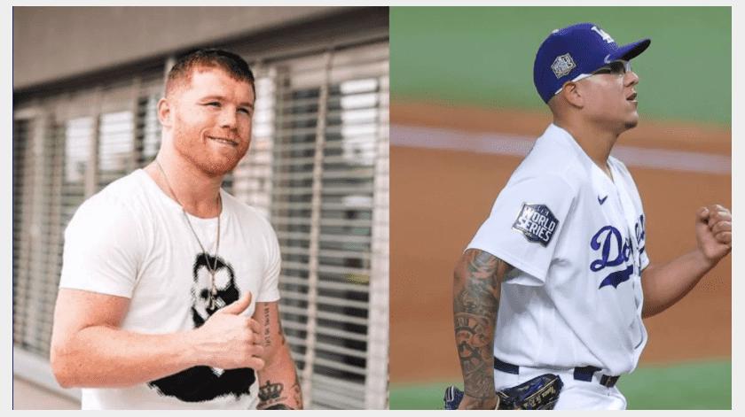 """""""Canelo"""" Álvarez felicita a Dodgers y otorga gran crédito a Julio Urías(Especial)"""