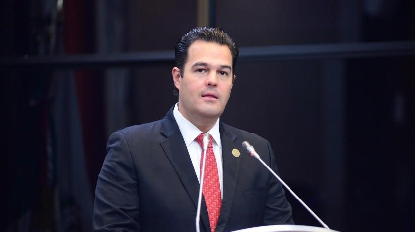 Diputado Rogelio Díaz Brown, del Grupo Parlamentario del PRI.(EL IMPARCIAL)