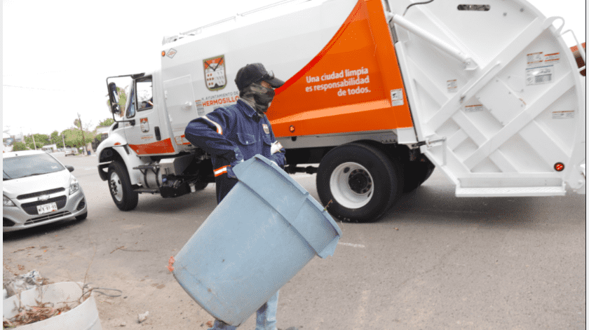 se solicita sacar sus desechos o hacer uso del contenedor del Estadio Héctor Espino.(Archivo GH)