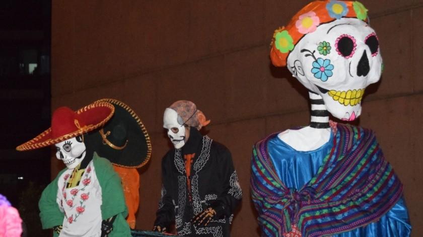 Programa artístico para conmemorar las tradiciones de Día de Muertos.(Cortesía)
