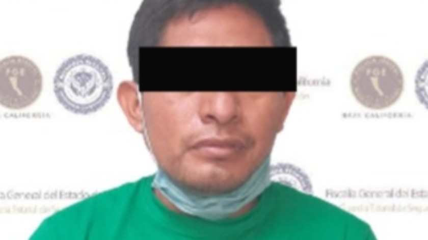 """El detenido está identificado como Carlos """"N"""".(Cortesía)"""