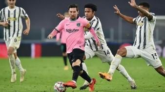 Lionel Messi marcó de penal el segundo gol.
