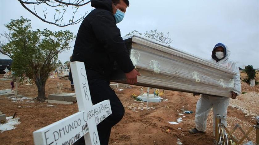 Covid-19 en México: 495 muertes y 5 mil 595 nuevos casos al corte de hoy(EFE)
