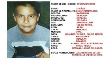 Se activa Alerta Amber para encontrar a José Juan; desapareció en Navojoa, Sonora