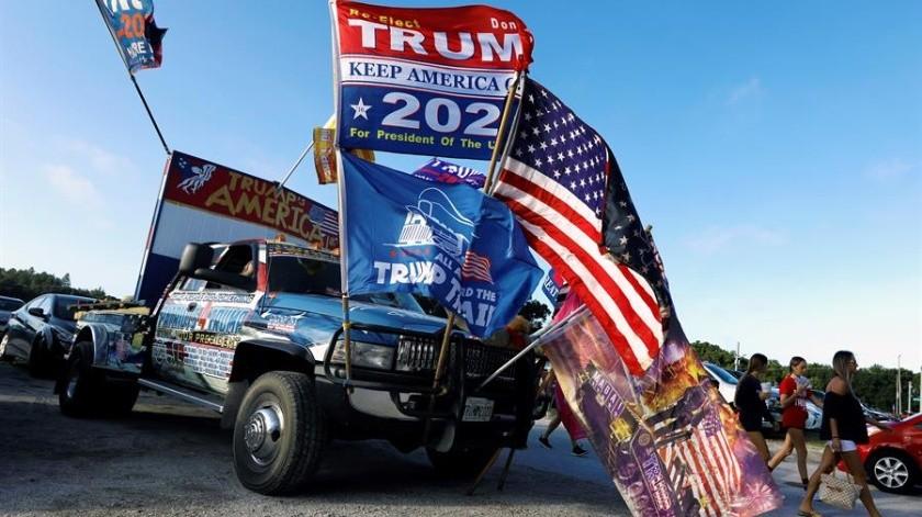 Gran parte del mundo tiene la mirada puesta en las votaciones del 3 de noviembre, en las cuales Donald Trump se juega su permanencia en la Casa Blanca.(EFE)