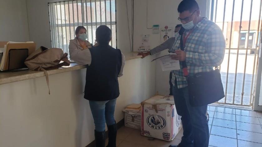 Personal de la STPS acudió a la empresa denominada Don Librado y Doña Rosa, S.A de C.V,(Cortesía)