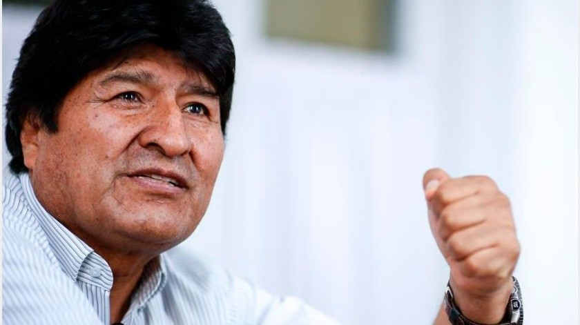 Morales se mostró tajante, en una entrevista telemática con Efe, acerca de la posibilidad de que pierda Trump en los comicios del próximo 3 de noviembre(EFE)
