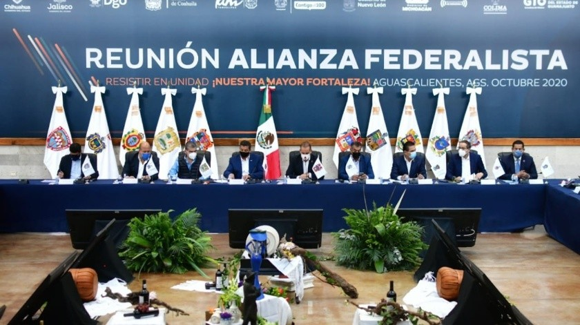 El presidente insistió en que la Federación entrega conforme a la Ley de Coordinación Fiscal los recursos que les corresponden, que en algunos casos representa el 95% del presupuesto de los estados.