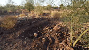 Localizan dos osamentas más en fosa clandestina en las Aves de Castillo