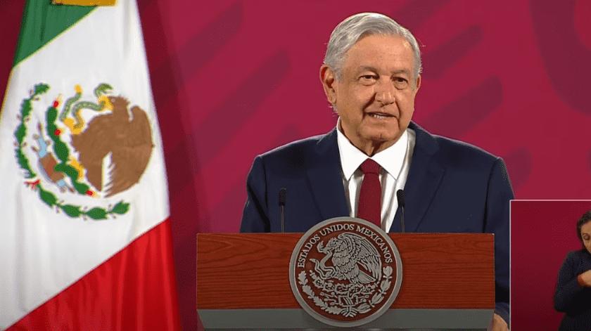 """El presidente mexicano agregó que se daba además el uso de gestores y coyotes para """"bajar recursos"""".(Especial)"""