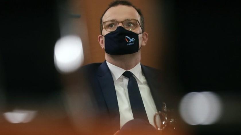 Jens Spahn señaló que la OMS no puede estar sola con la pandemia(AP)