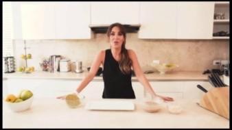 Hace unos meses Anahí se volvió tendencia por su receta de enfrijoladas.