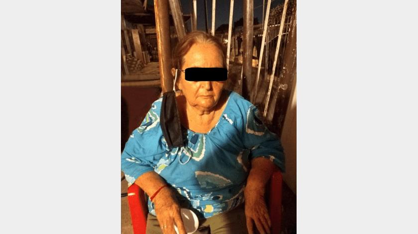 """Adulta mayor es detenida en cateo con droga y """"maquinitas"""""""
