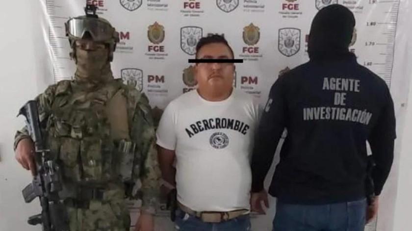 """Otro golpe al CJNG: Cae """"El Yeyo"""", presunto operador en Guanajuato(Cortesía)"""
