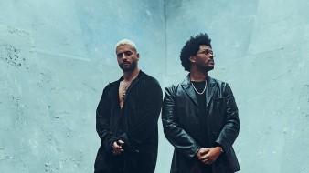 """Maluma y The Weeknd paralizan las redes con remix de """"Hawái"""""""