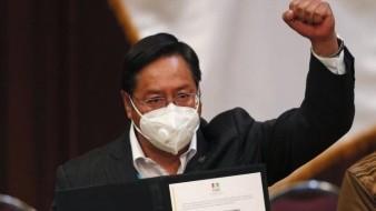 Inicia la transición presidencial en una Bolivia todavía polarizada: AP; Luis Arce asume mandato el 8 de noviembre