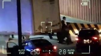 VIDEO | Policía Municipal detiene a sujeto por intento de robo en colonia Fuentes del Mezquital