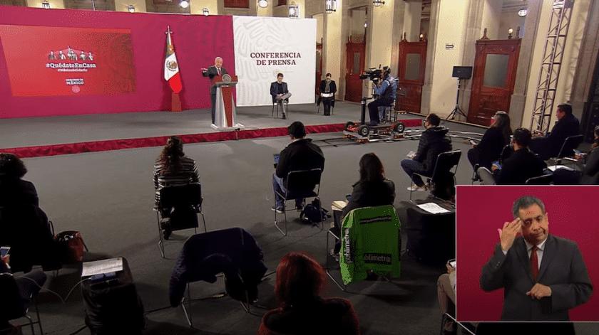 El secretario de López Obrador habría contratado empresas fantasmas durante 2018.(Especial)