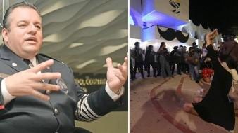 Separan de SSP a Alberto Capella tras represiónviolenta de protestas