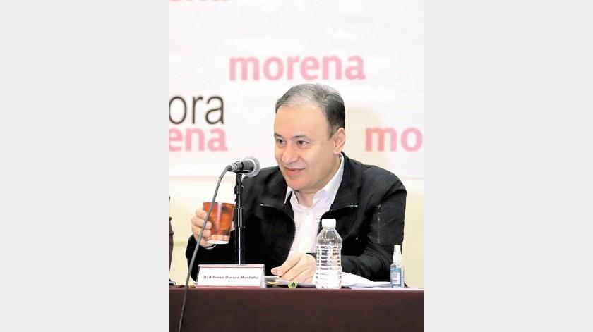 Alfonso Durazo Montaño, ex secretario de Seguridad y Protección Ciudadana.(Julián Ortega)