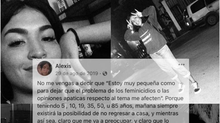 Lo que se sabe del feminicidio de Alexis, que desató protesta entre disparos en Cancún(Twitter/ femxfem1)