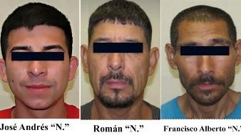 Capturan a tres señalados por tentativa de feminicidio y privación de la libertad
