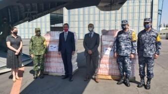Alemania envía ayuda humanitaria a Tabasco y Chiapas