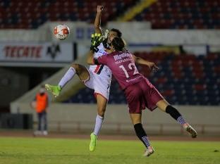 Ángel López estuvo cerca de marcar el primero para Cimarrones