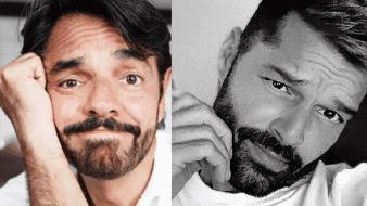 Eugenio Derbez le dejó un mensaje a Ricky Martin en redes sociales.