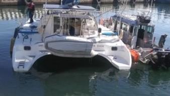 La tripulación del buque fue detenida y puesta a disposición del Ministerio Público Federal para el inicio de la investigación correspondiente.