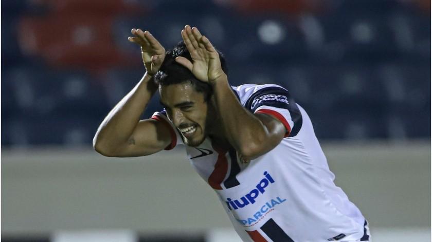 Brian García marcó el jueves el gol de Cimarrones.(Cortesía)