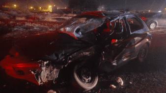 Policía muere en choque al poniente de Mexicali